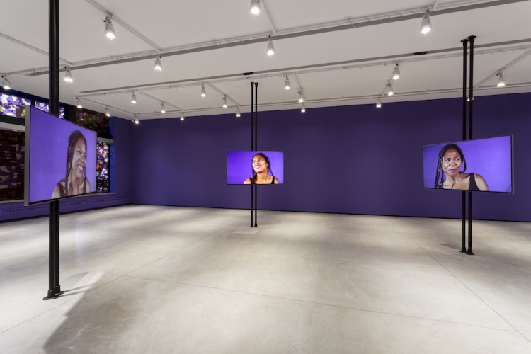 "Martine Syms, ""Borrowed Lady"". Installation view, Audain Gallery, 2016, Vancouver, BC"