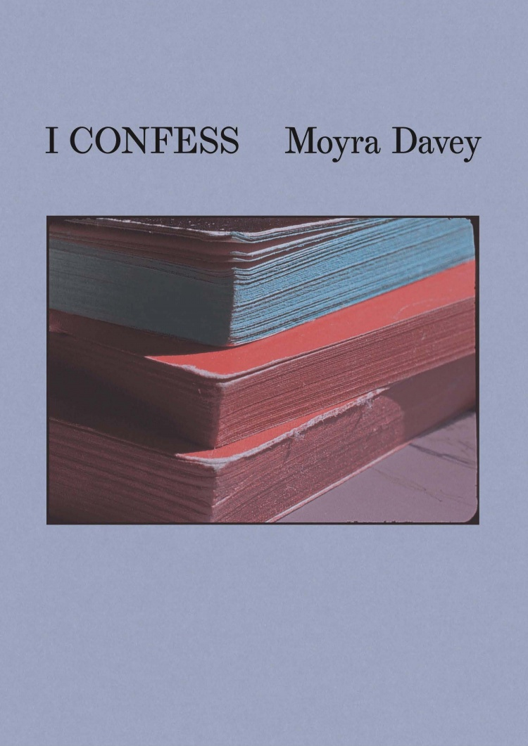 COVER IMAGE: Moyra Davey, i confess, 2019, still from HD video with sound; COVER DESIGN: SANTIAGO DE SILVA; COURTESY OF THE ARTIST, GREENGRASSI, LONDON, AND GALERIE BUCHHOLZ, BERLIN/COLOGNE/NEW YORK